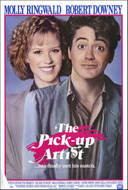 The Pick-Up Artist poster Molly Ringwald Randy Jensen