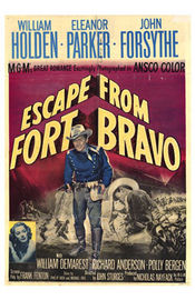Escape from Fort Bravo Poster