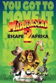 Madagascar: Escape 2 Africa Poster