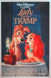 Lady and the Tramp poster Peggy Lee Am