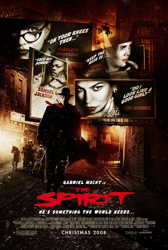 Poster del film The Spirit