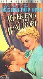 Week-End at the Waldorf (Weekend at the Waldorf) poster Ginger Rogers Irene Malvern