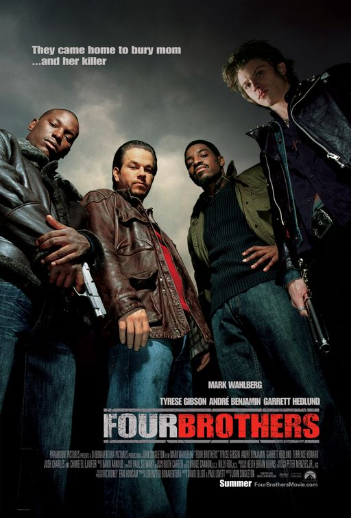 Poster del film Four Brothers - Quattro Fratelli