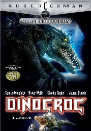 Dinocroc Poster