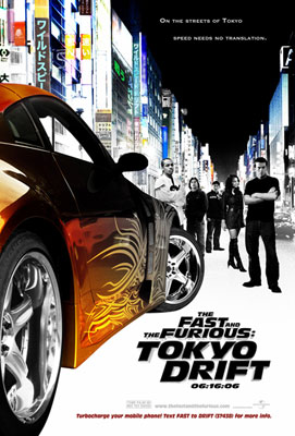 Poster del film The Fast and the Furious: Tokyo Drift