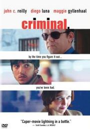 Criminal Poster
