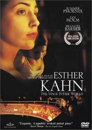 Esther Kahn poster Summer Phoenix Esther Kahn
