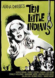 Agatha Christie's 'Ten Little Indians' Poster