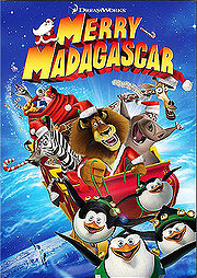 Merry Madagascar Poster