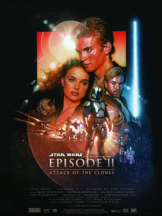 Star Wars: Episode II - Attack of the Clones 3D Cover