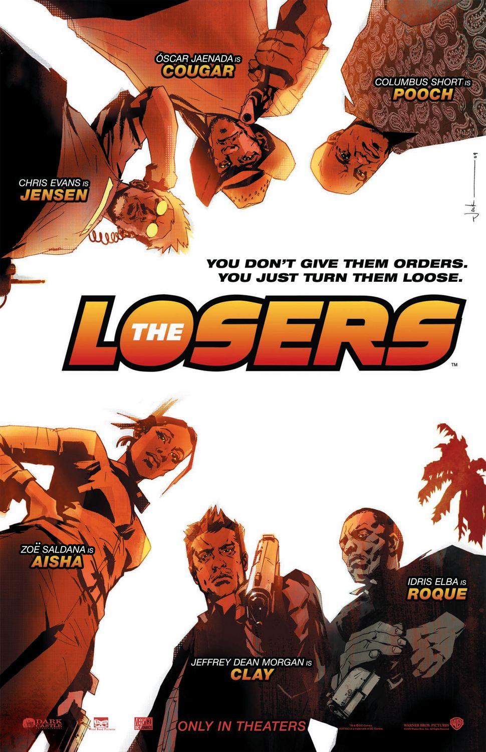 Poster del film The Losers