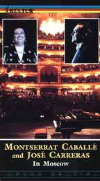 Jose Carreras and Montserrat Caballe in Moscow