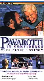 Pavarotti in Confidence With Peter Ustinov