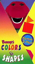 Barney barney s colors amp shapes 1996