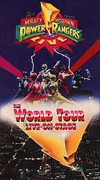 Mighty Morphin Power Rangers - The World Tour Live on Stage