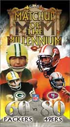 NFL Matchup of the Millennium Game 1: '60s Packers vs. '80s 49ers