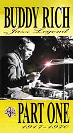 Buddy Rich - Jazz Legend Part 1: 1917 - 1970
