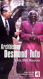 Archbishop Desmond Tutu with Bill Moyers