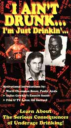 I Ain't Drunk... I'm Just Drinkin'... Learn About the Serious Consequences of Underage Drinking