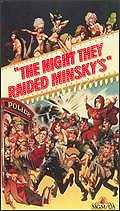 The Night They Raided Minsky's Poster