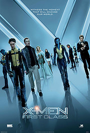 11157925 det X Men: First Class (BluRay) Action  Adventure