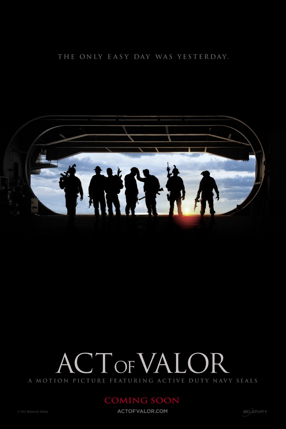 Poster del film Act of Valor