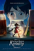 The Secret World of Arrietty poster & wallpaper
