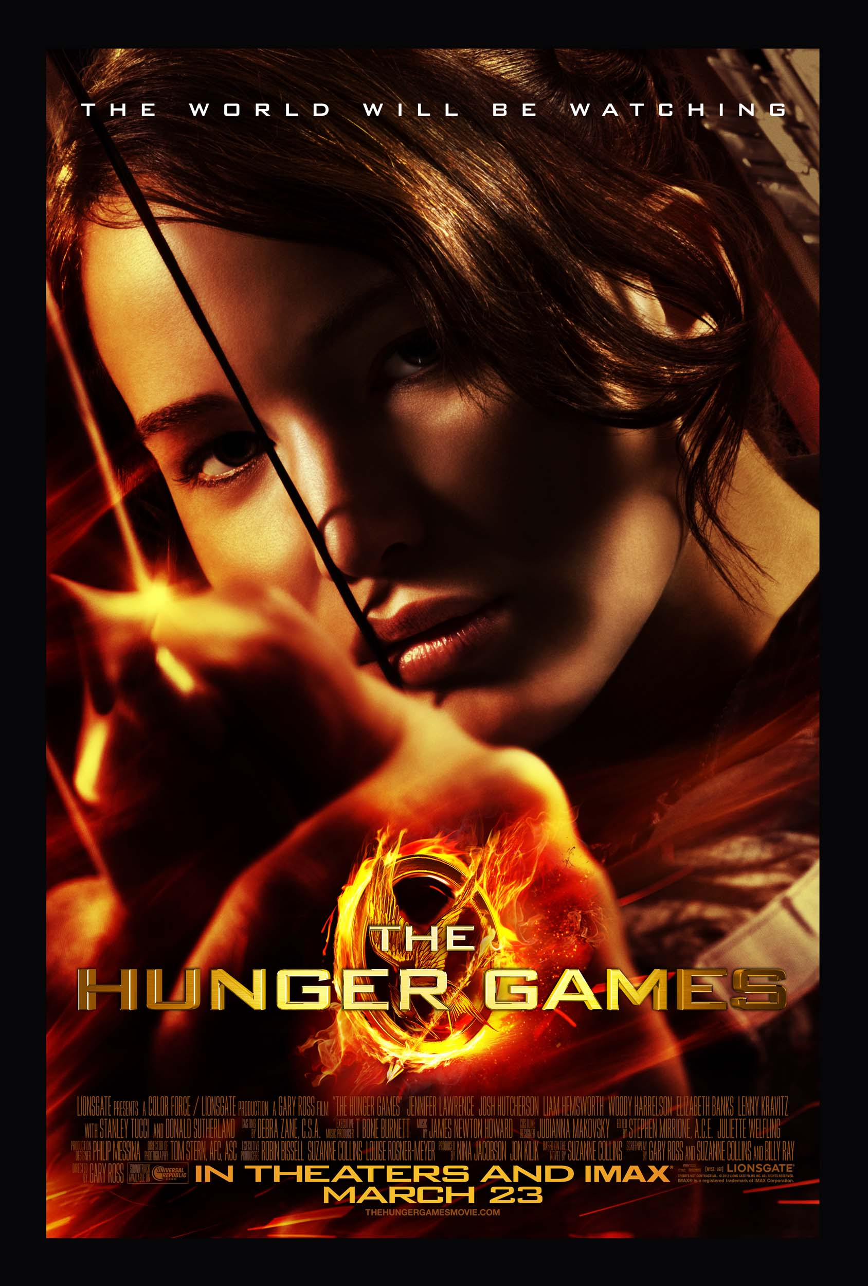 Poster del film Hunger Games