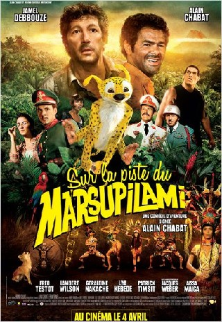 Sur la piste du Marsupilami (HOUBA! On the Trail of the Marsupilami)