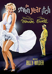 The Seven Year Itch poster Marilyn Monroe The Girl