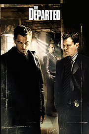 The Departed poster Leonardo DiCaprio Billy Costigan
