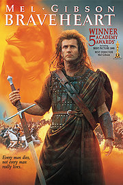 Braveheart poster Mel Gibson William Wallace