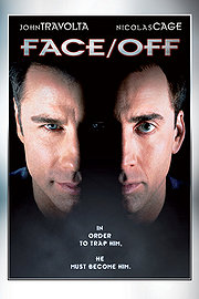 Face/Off movie posters