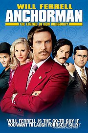 Anchorman - The Legend Of Ron Burgundy poster Will Ferrell Ron Burgundy