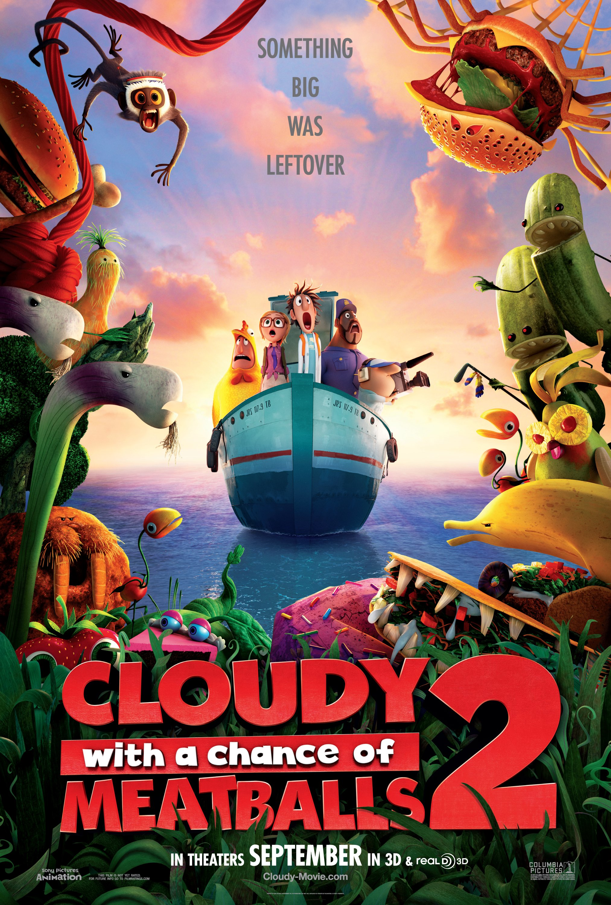 CLOUDY WITH A CHANCE OF MEATBALLS 2 - 3D (IN DIGITAL) (PG)