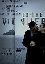 To The Wonder poster Ben Affleck Neil