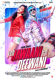 Poster Yeh Jawaani Hai Deewani (2013) Movie