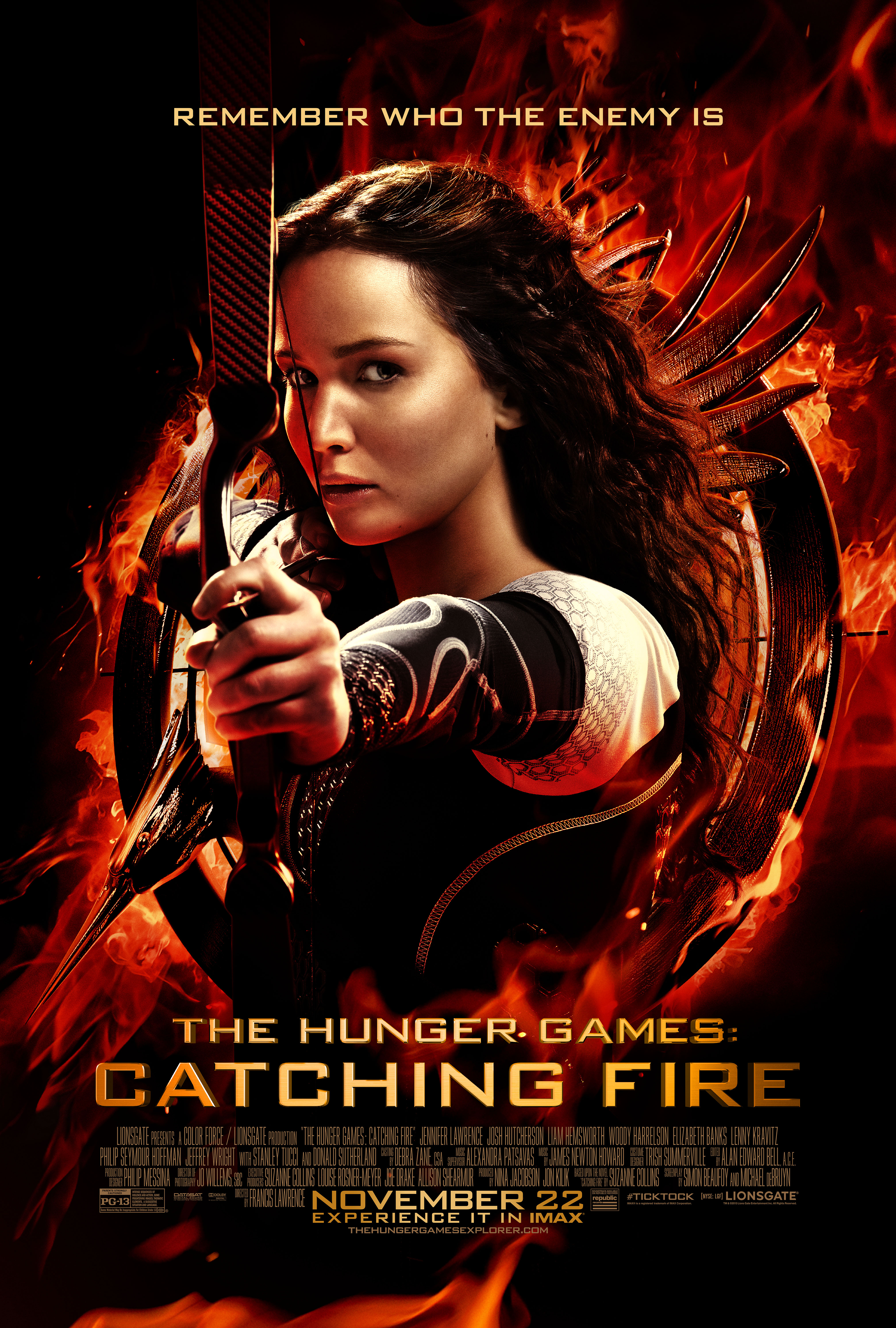 THE HUNGER GAMES: CATCHING FIRE (IN DIGITAL) (PG-13)