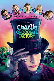 Charlie and the Chocolate Factory poster Johnny Depp Willy Wonka