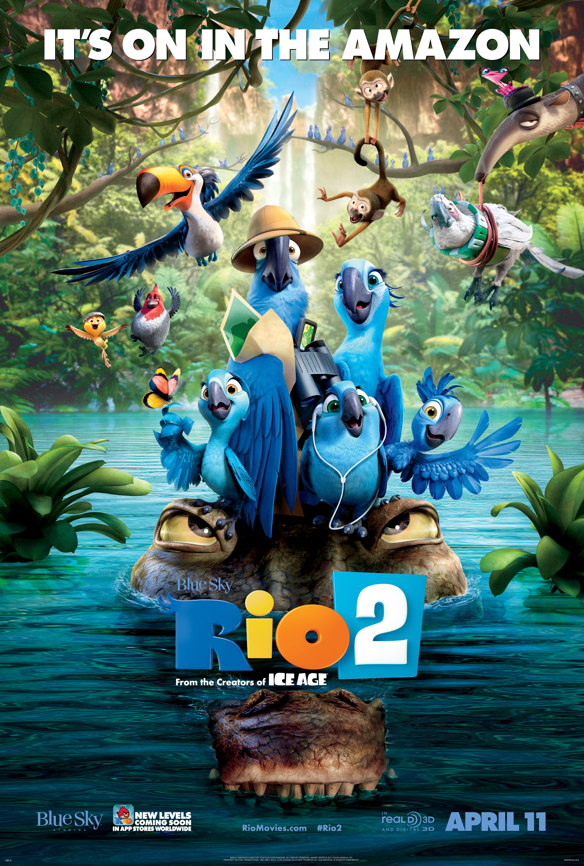 RIO 2 3D (IN DIGITAL) (G)