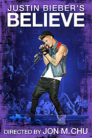Justin Bieber's Believe movie 2013 poster