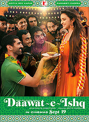 Daawat-e-Ishq (2014) NEW in Theaters (DVD) Drama (Hindi)