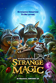 Strange Magic (2015)  Theater RLSD ( DVDRip ) Animation | Fantasy