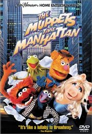 The Muppets Take Manhattan Poster