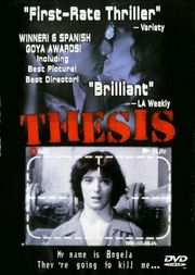 thesis amenabar review The review should give enough details about the movie that the reader can make  come up with an interesting thesis and write a review as entertaining as your.