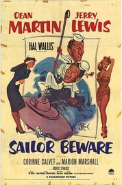 Sailor Beware poster Dean Martin Al Crowthers