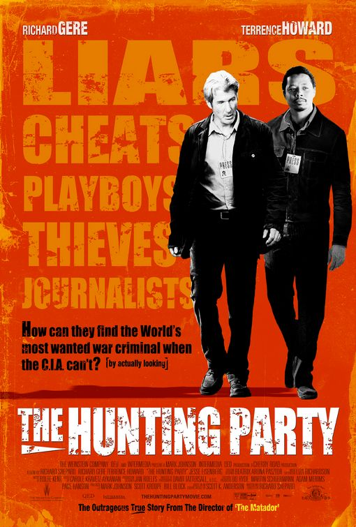 Poster del film The Hunting Party