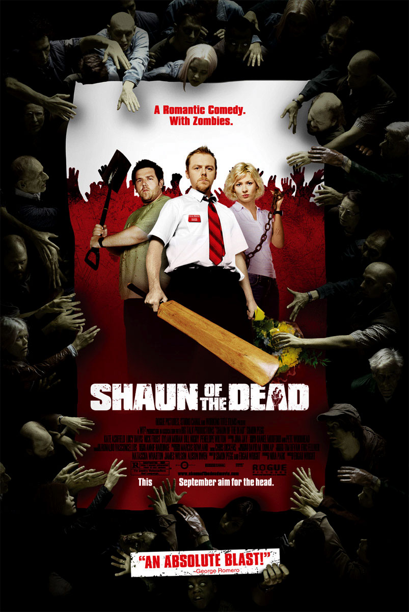 Poster del film L'alba dei morti dementi - Shaun of the dead