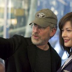 Steven Spielberg, Catherine Zeta-Jones in The Terminal (2004)