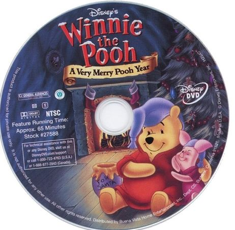 Winnie the Pooh A Very Merry Pooh Year Movie